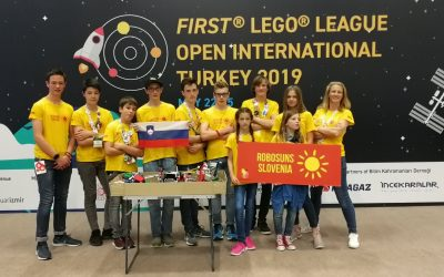 First Lego League Open International Turkey 2019